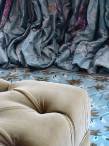 puddling curtains for luxury interior design