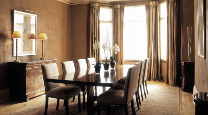 Dinning room in Harley House