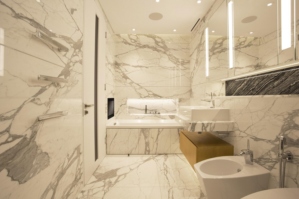 Bathroom designer of the year 2015 ren dekker design Award winning design