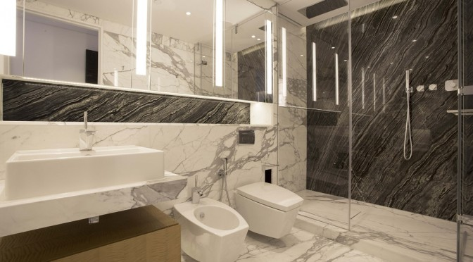 Bathroom Designer Using Marble