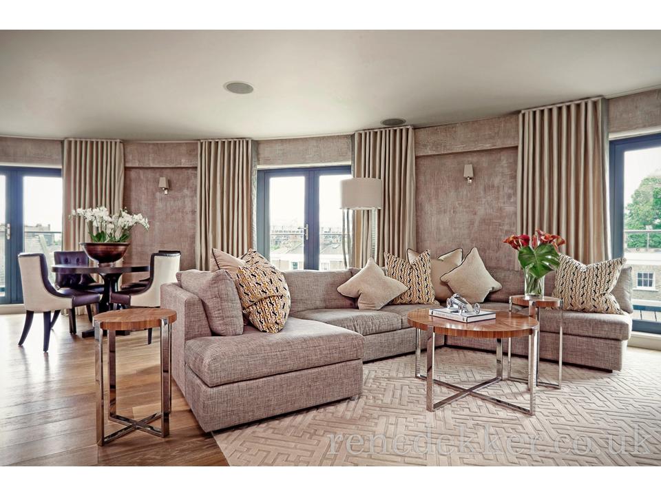 Chelsea Pad Living Room - René Dekker