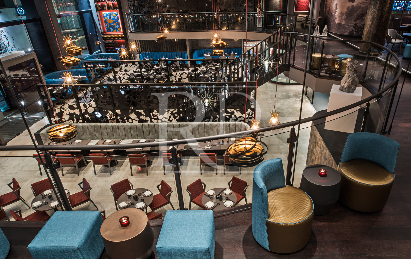 M Restaurant Mezzanine