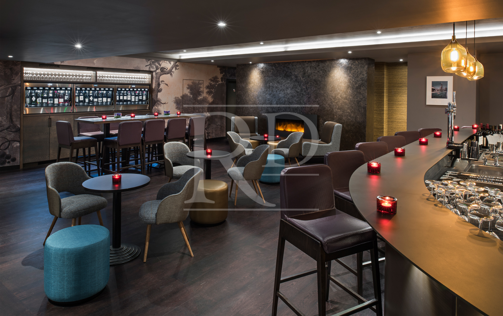Commercial Interior Designer | M Restaurant - Bar