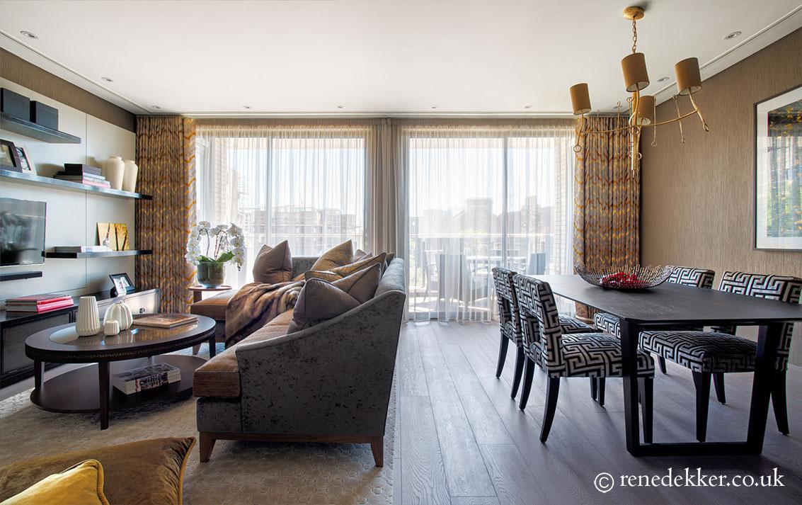 Opulent reception room consilium luxuria for Apartment design guide part 2