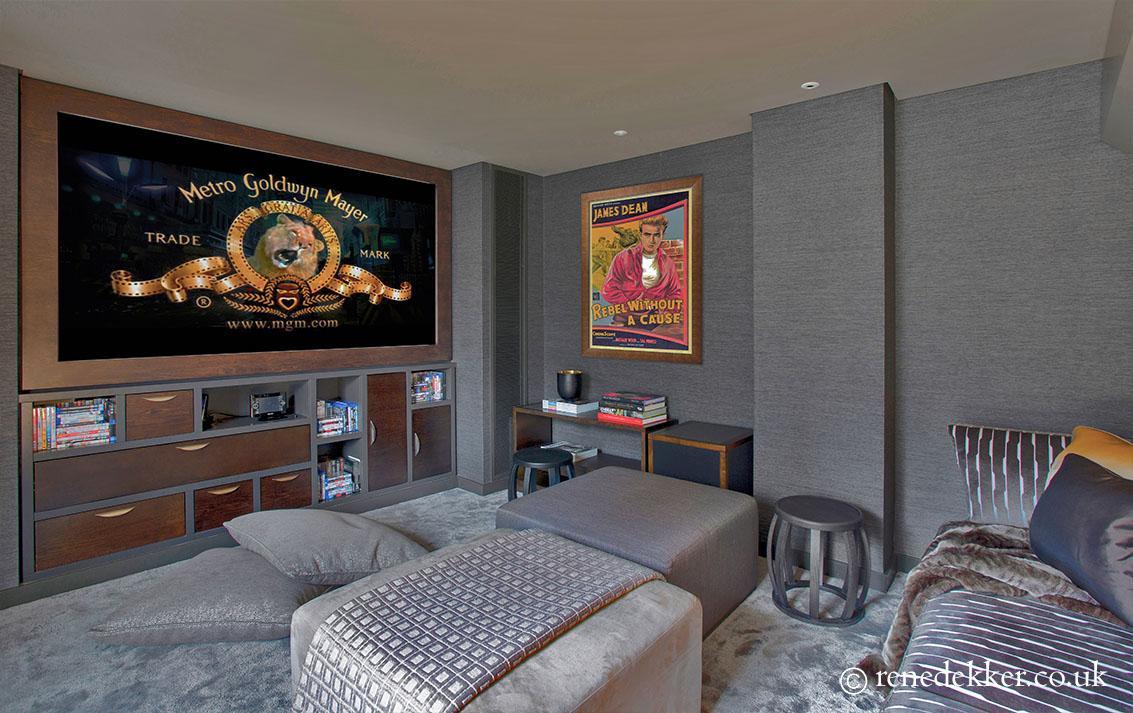 Plush Cinema Room