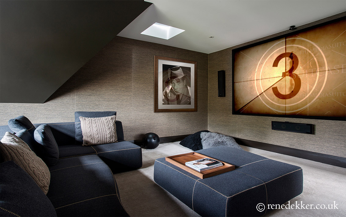 Modern Luxury Cinema Room