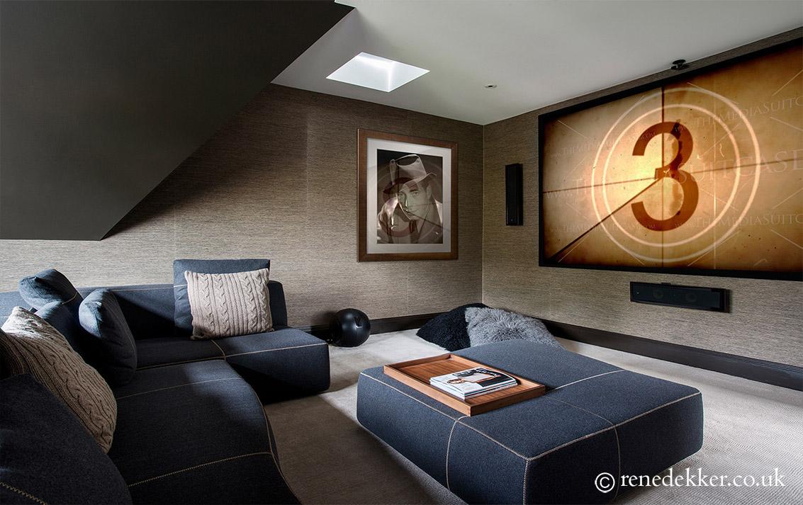 Modern Luxury Cinema Room
