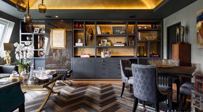 Gold Luxury Interior Design