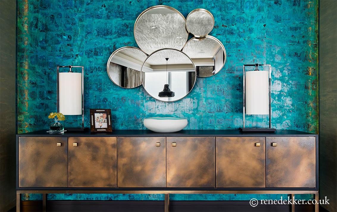 Luxury Bronze Cabinet