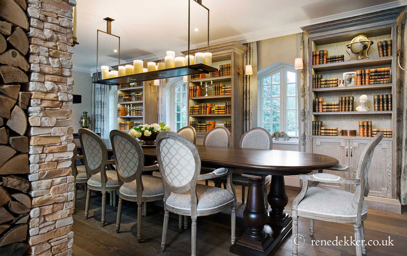 Dining Room Design in Country Home