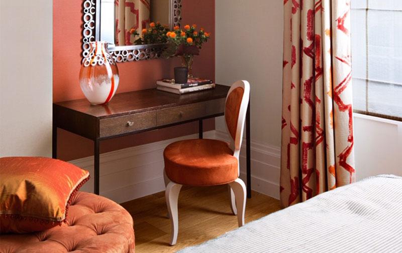interior design and coral
