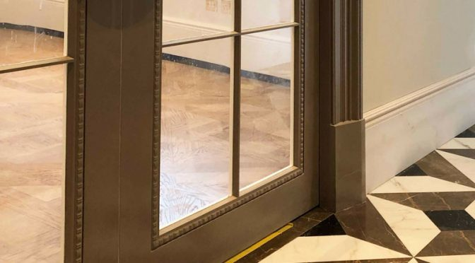 Floor tiles – Cementing the issue