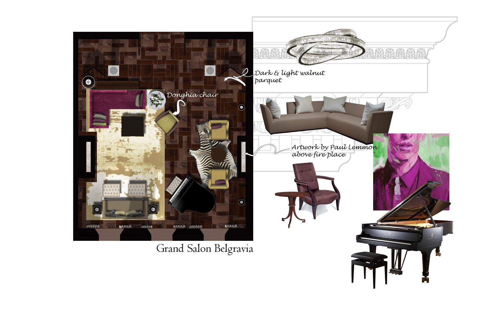 belgravia house layout design