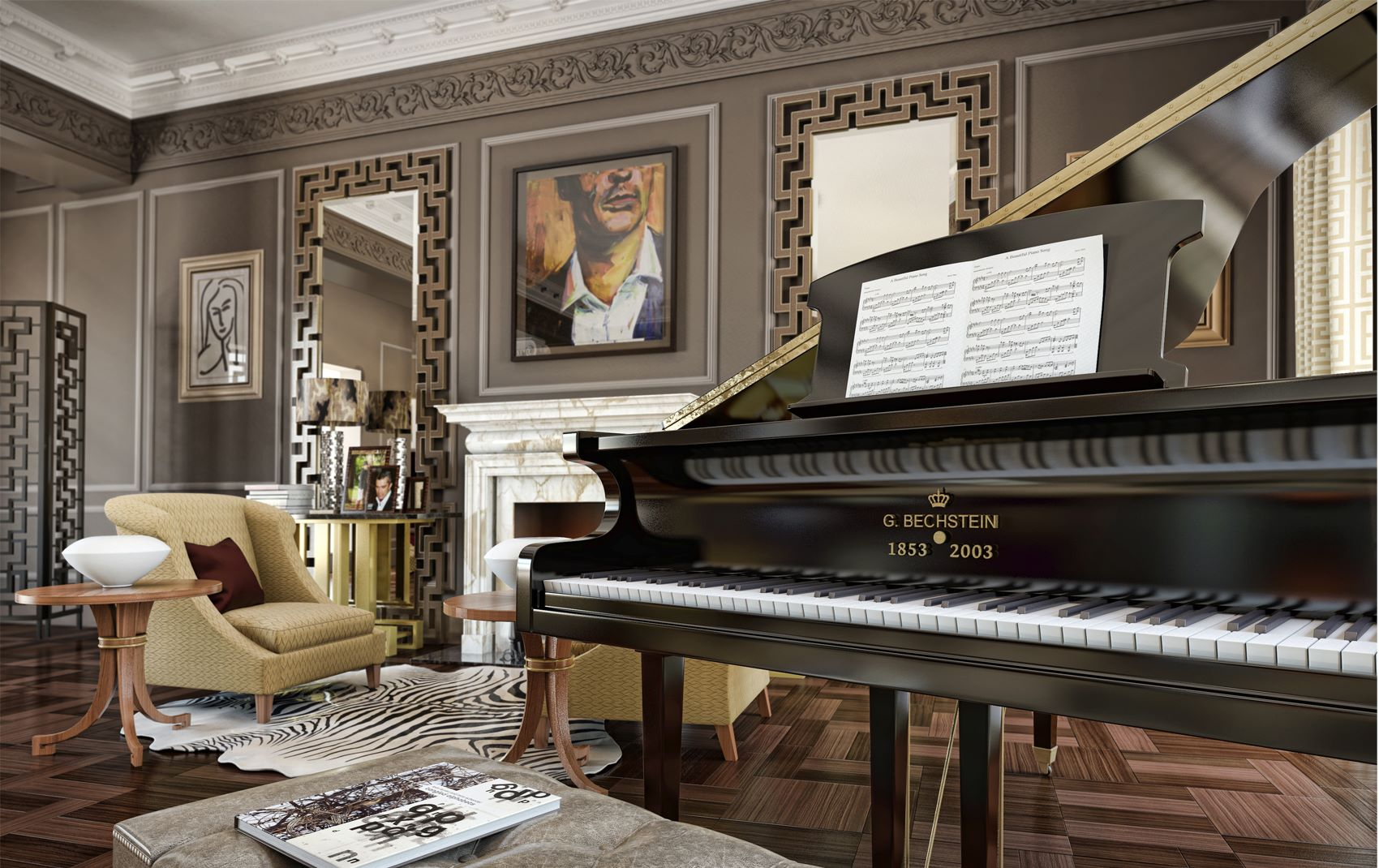 luxury piano gallery uk