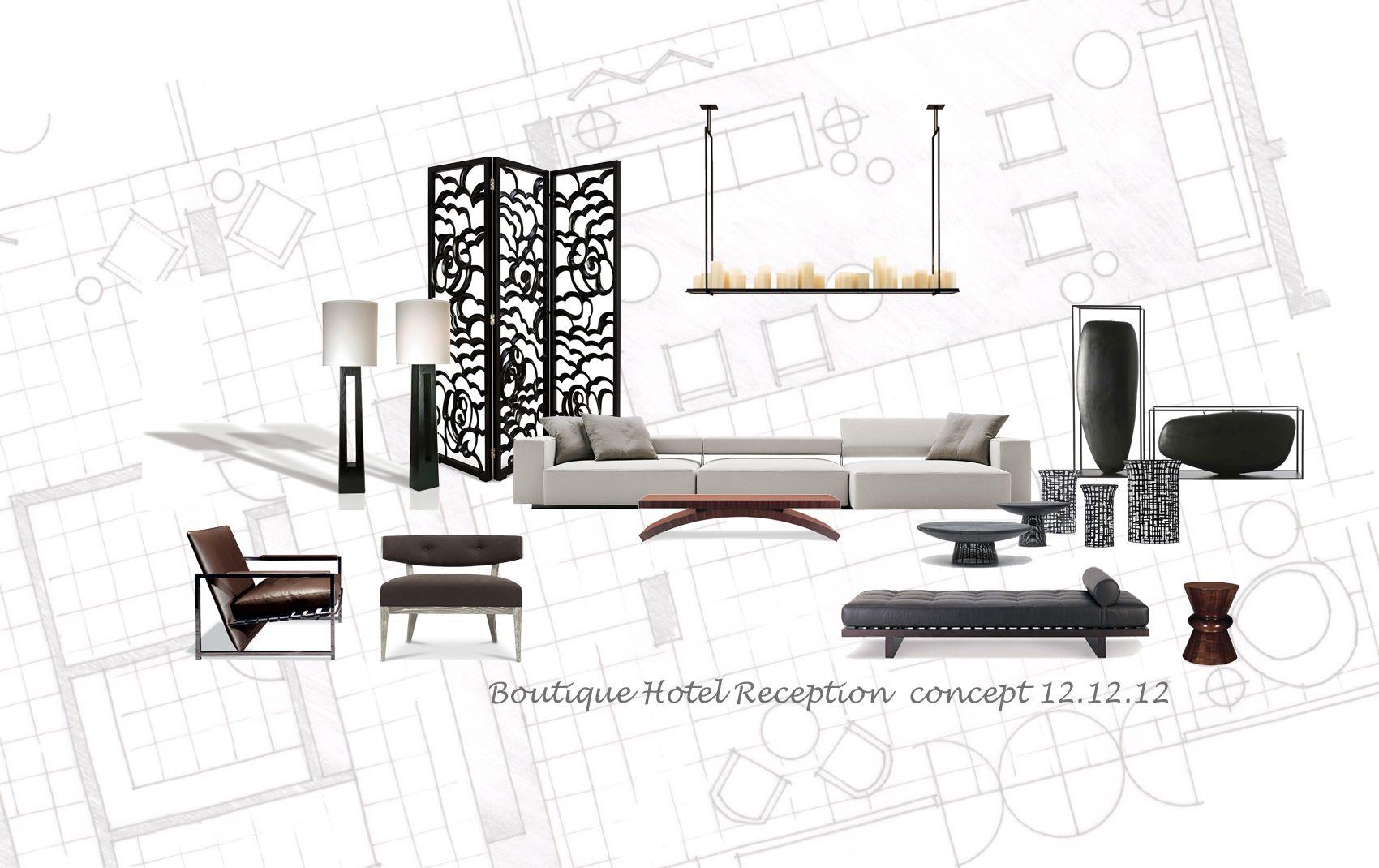 boutique hotel - high end interior designers uk