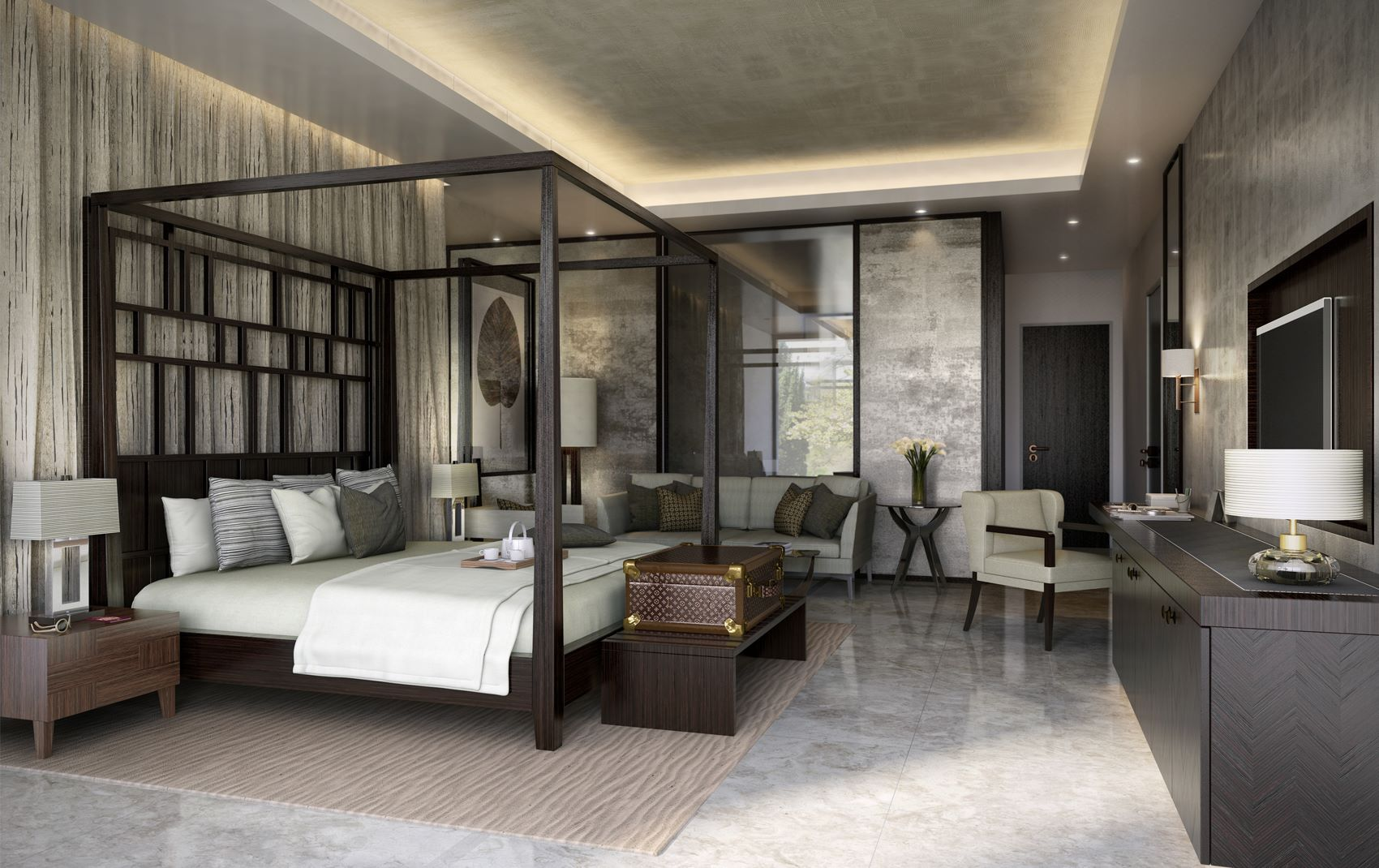 boutique hotel - commercial luxury interior