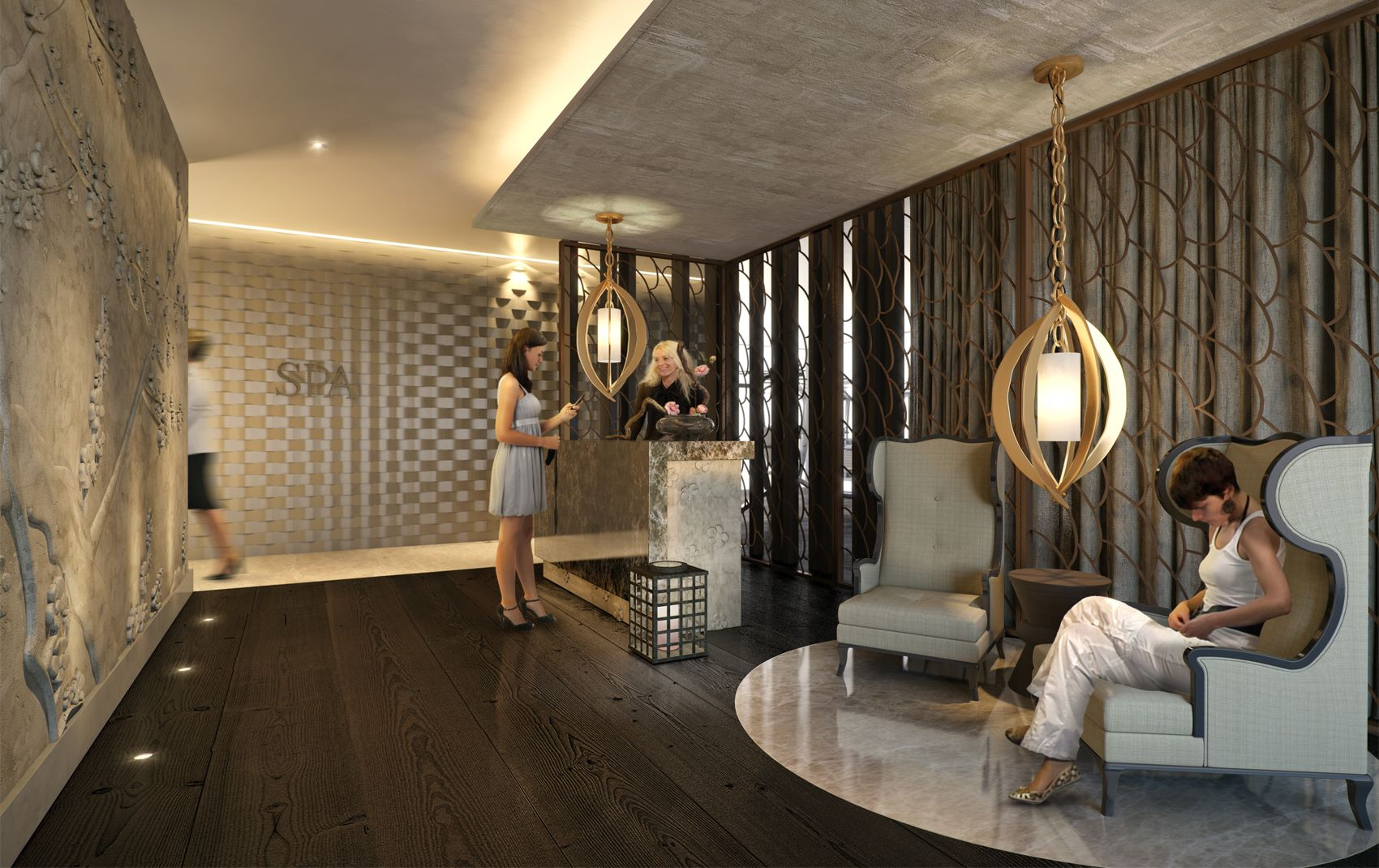 high end commercial interior design
