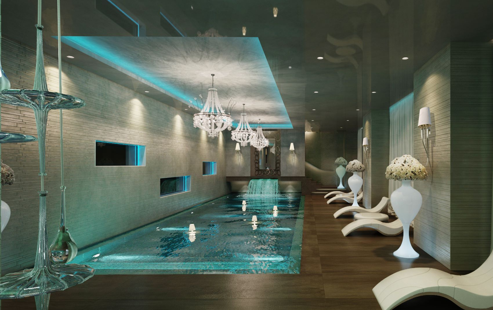 Luxury Interior Design Swimming Pool