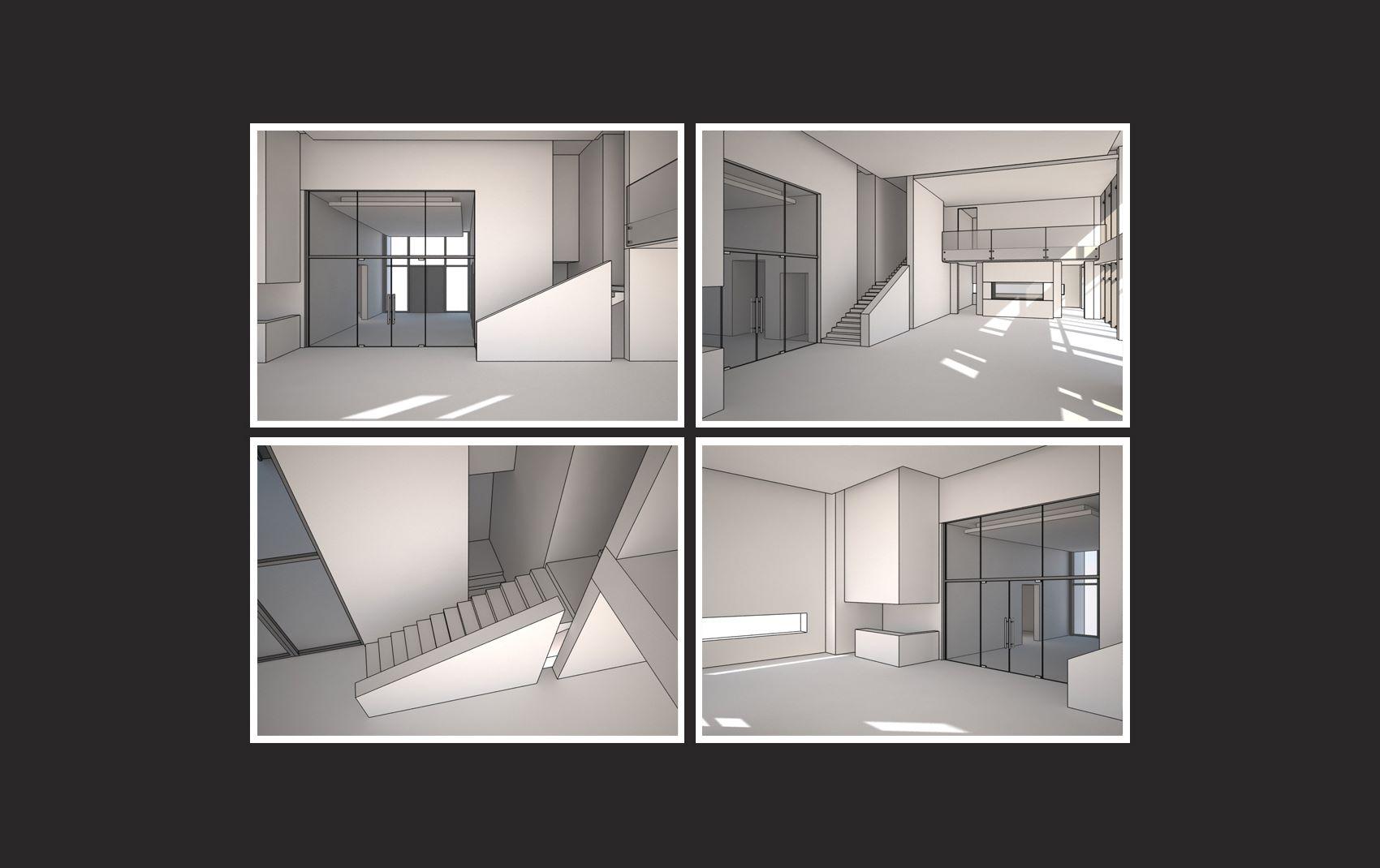 moscow villa - interior design preview