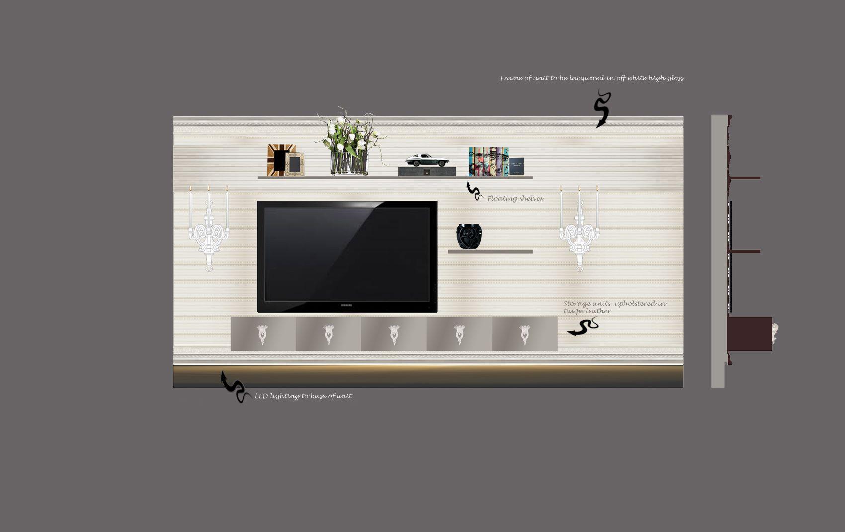 moscow villa - luxury design mockup