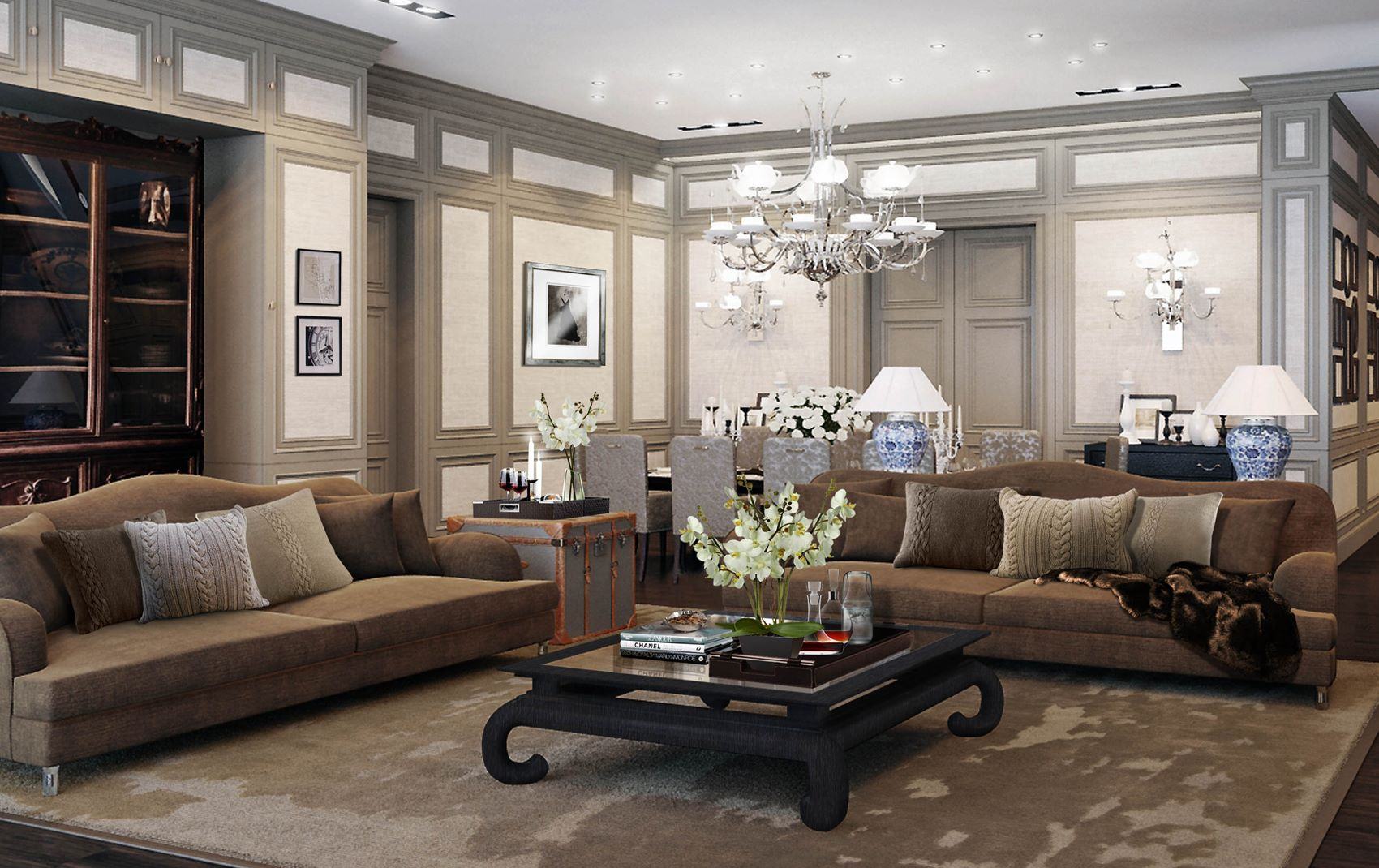 Luxury Interior Design Living Room
