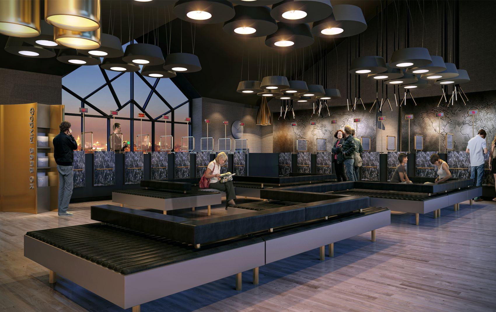 international visa centres - commercial luxury interior