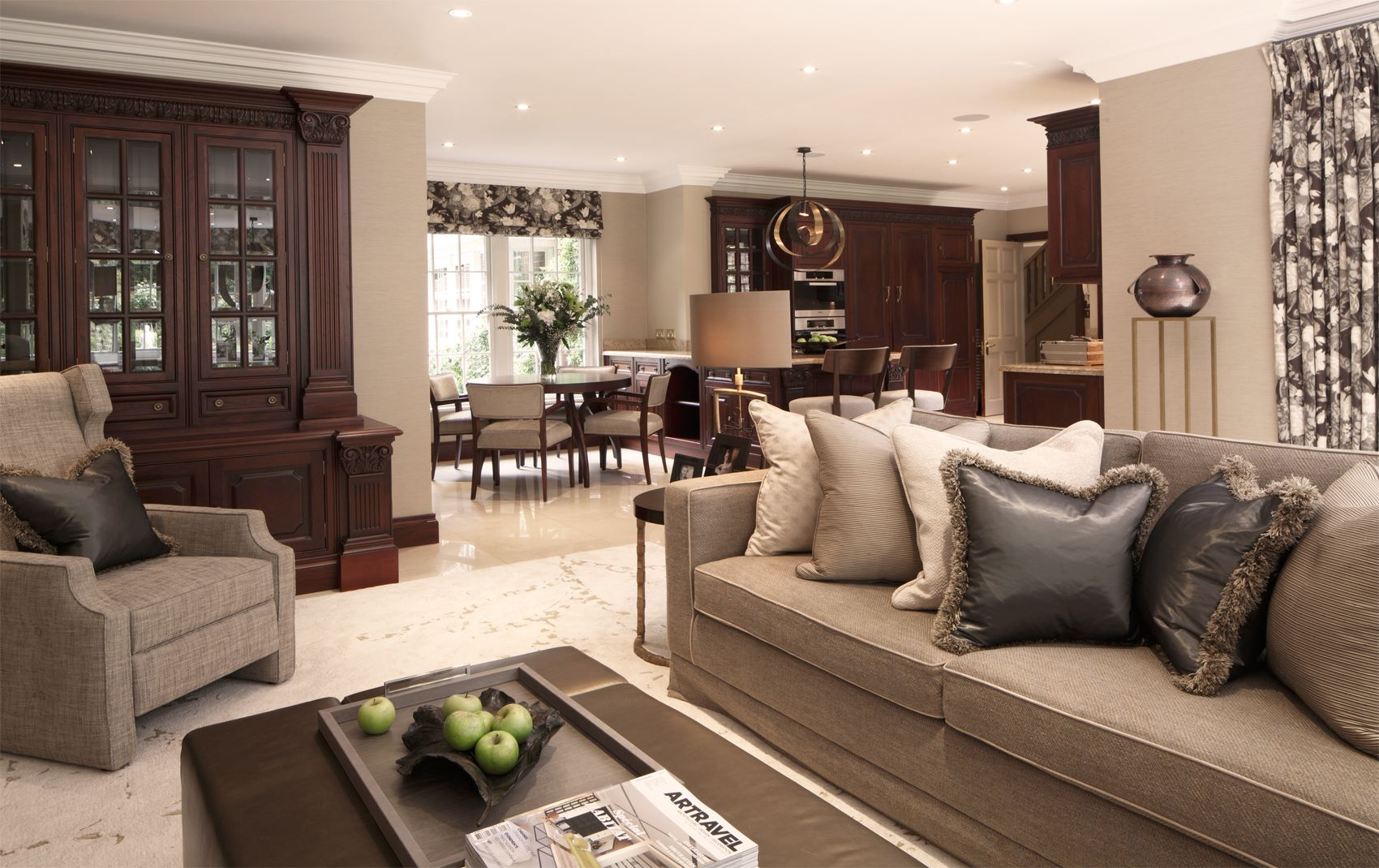 st georges hill - decorative living room