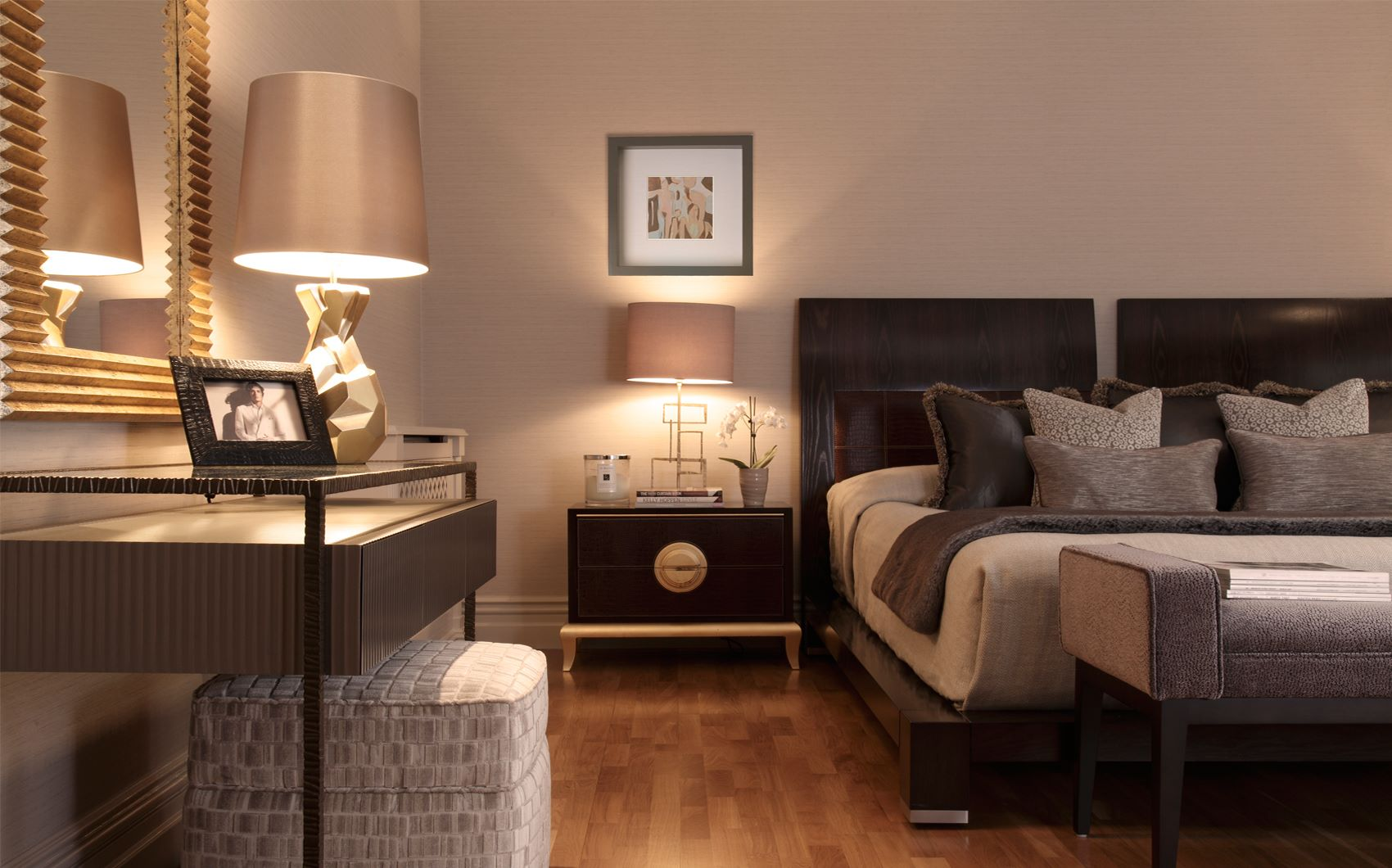 st georges hill - bedroom nightstand