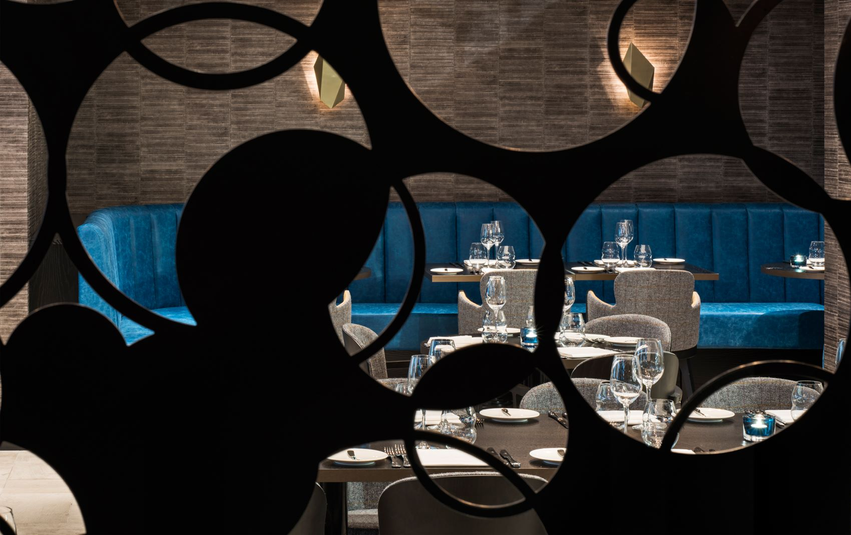 m restaurant - luxury restaurant design