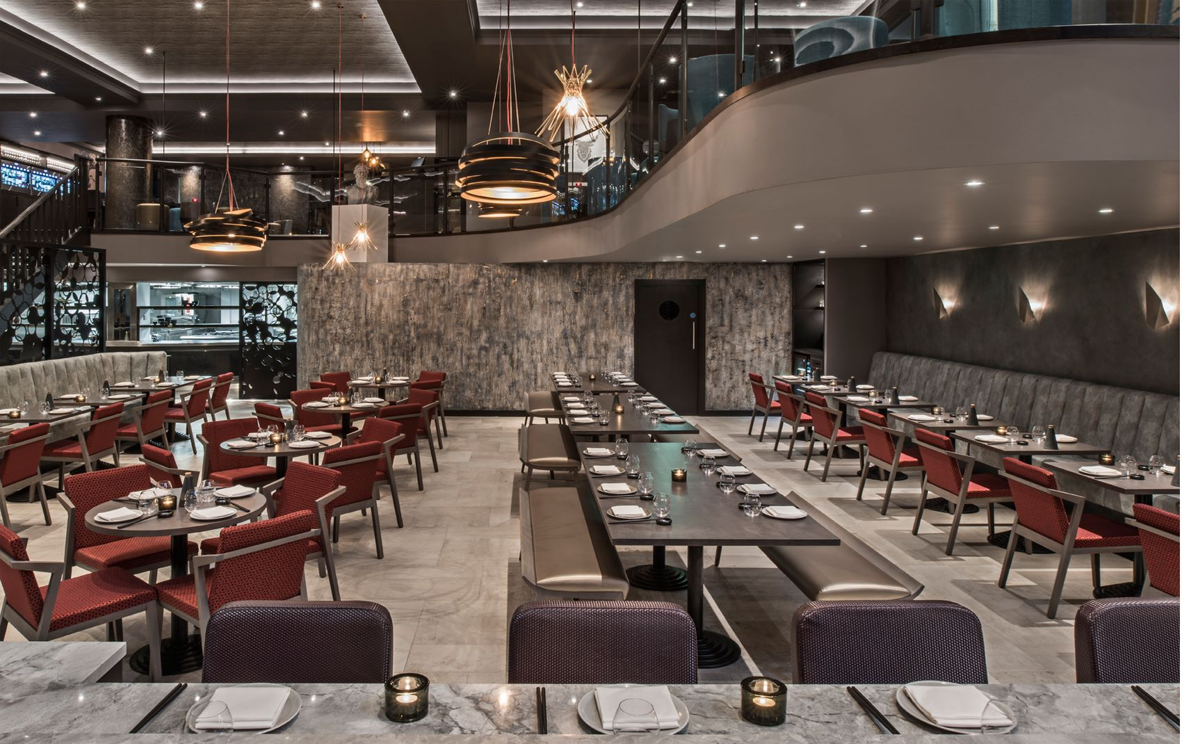upscale interior design restaurant