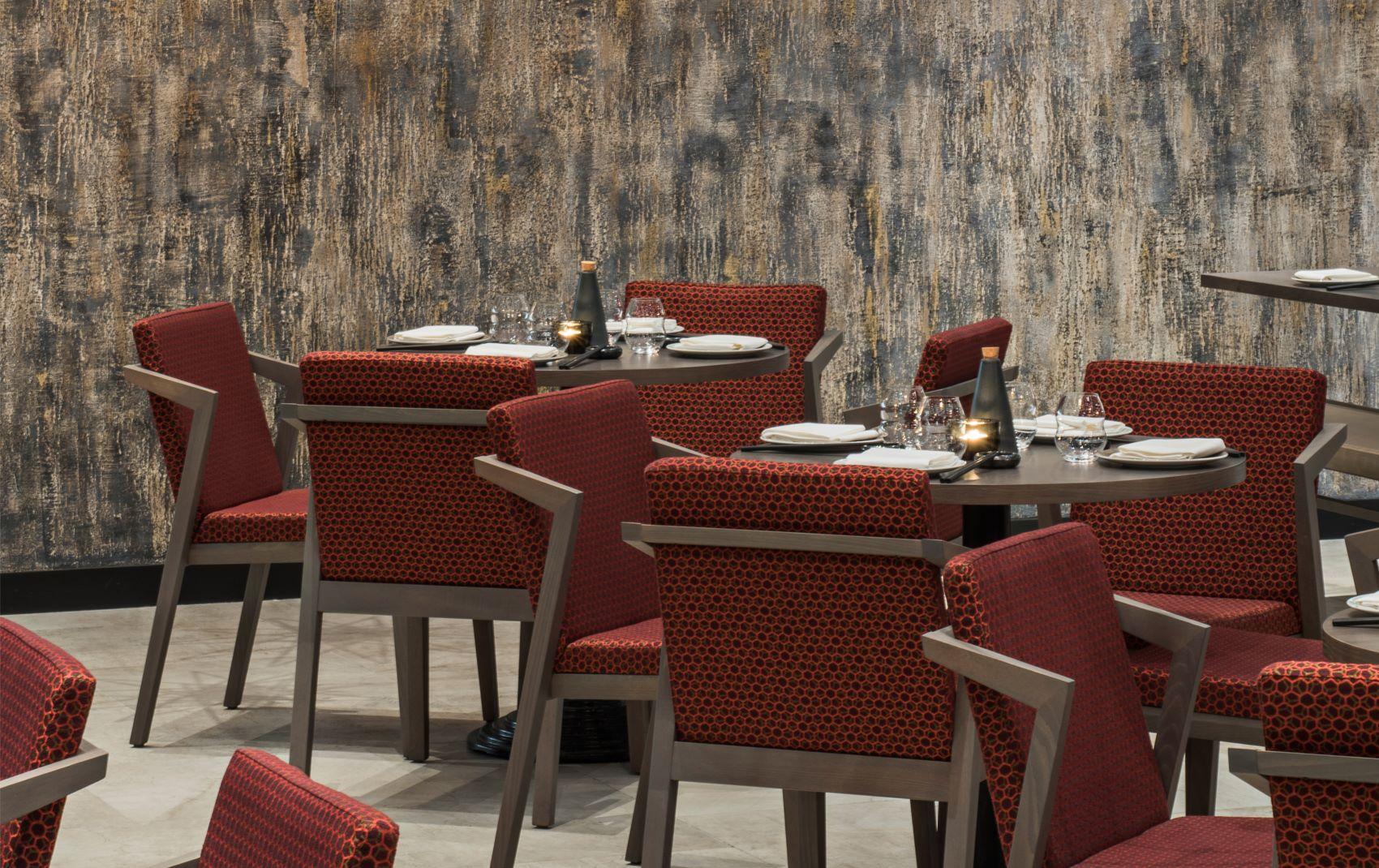 upscale restaurant luxury interior design