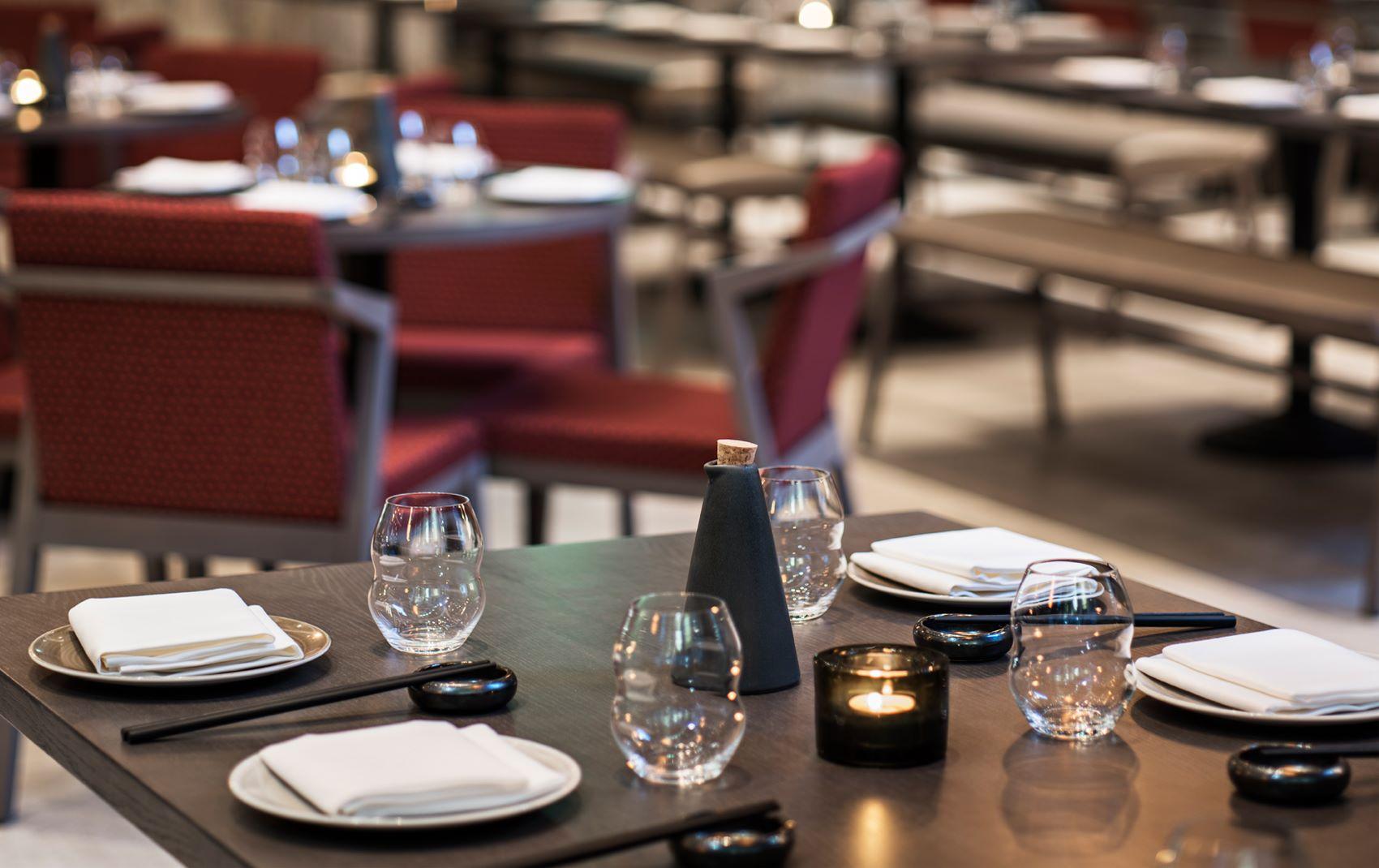 fancy restaurant interior design