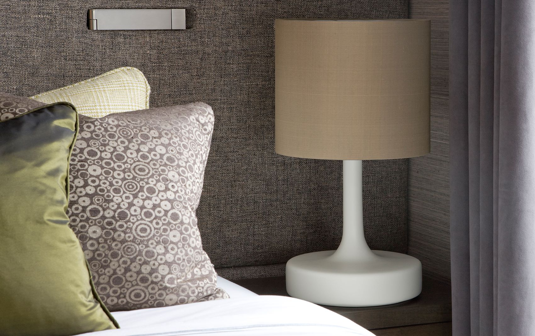 west london penthouse - side table lamp