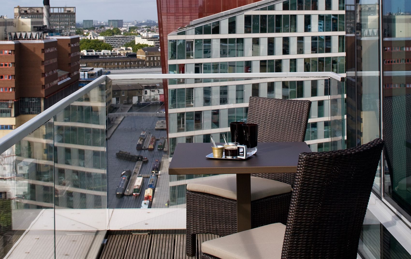 west london penthouse - balcony overlooking london
