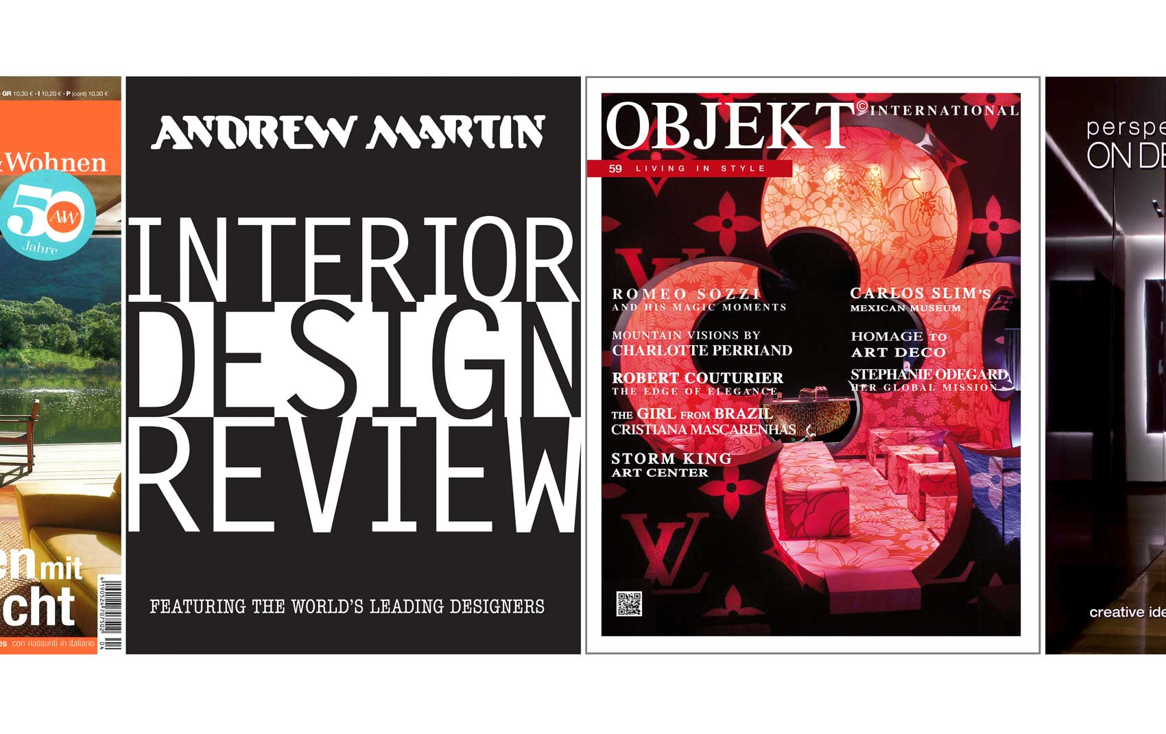 Interior Design Review and Objekt Magazines