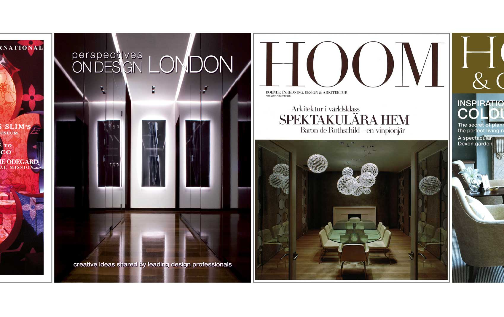Perspective on Design and Hoom Magazines