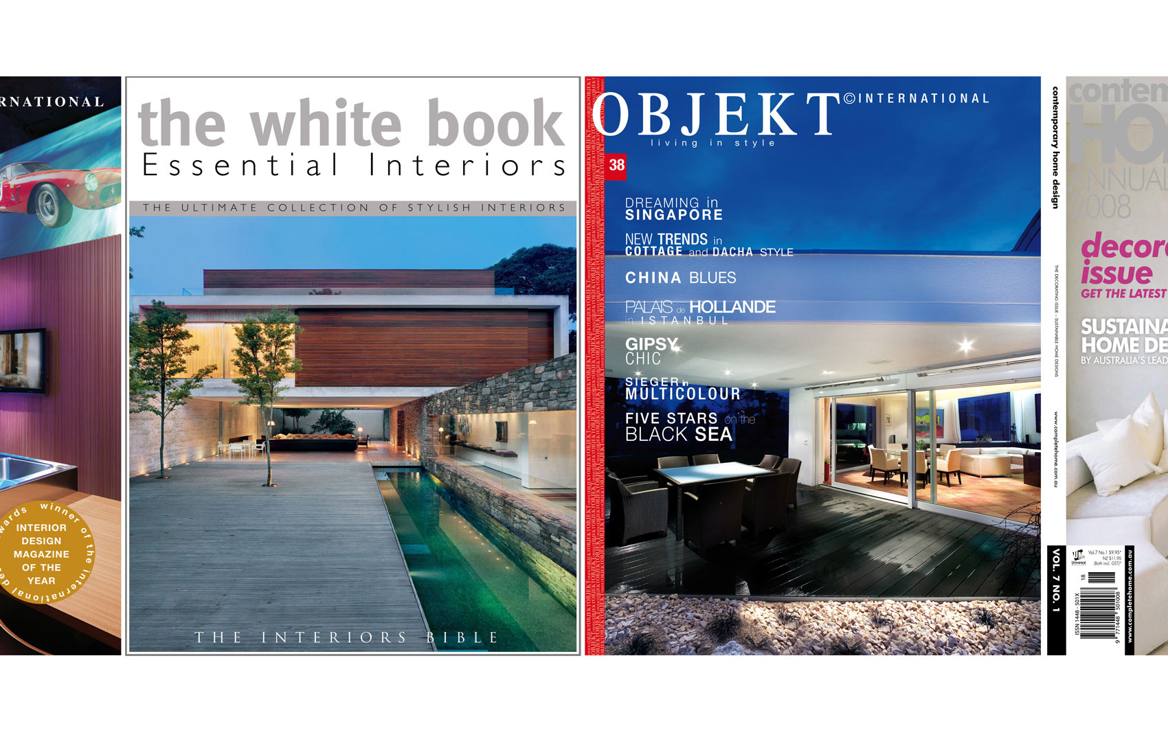 Featured in The White Book Essential Interiors