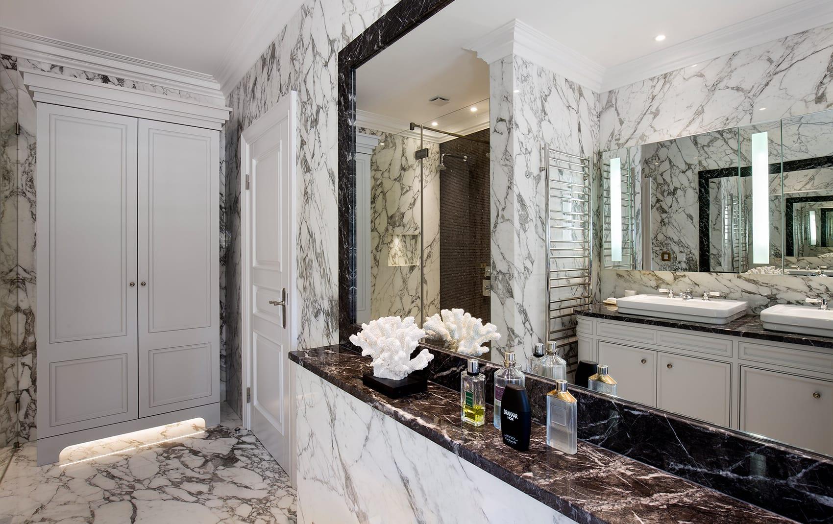 modern luxury bathroom London
