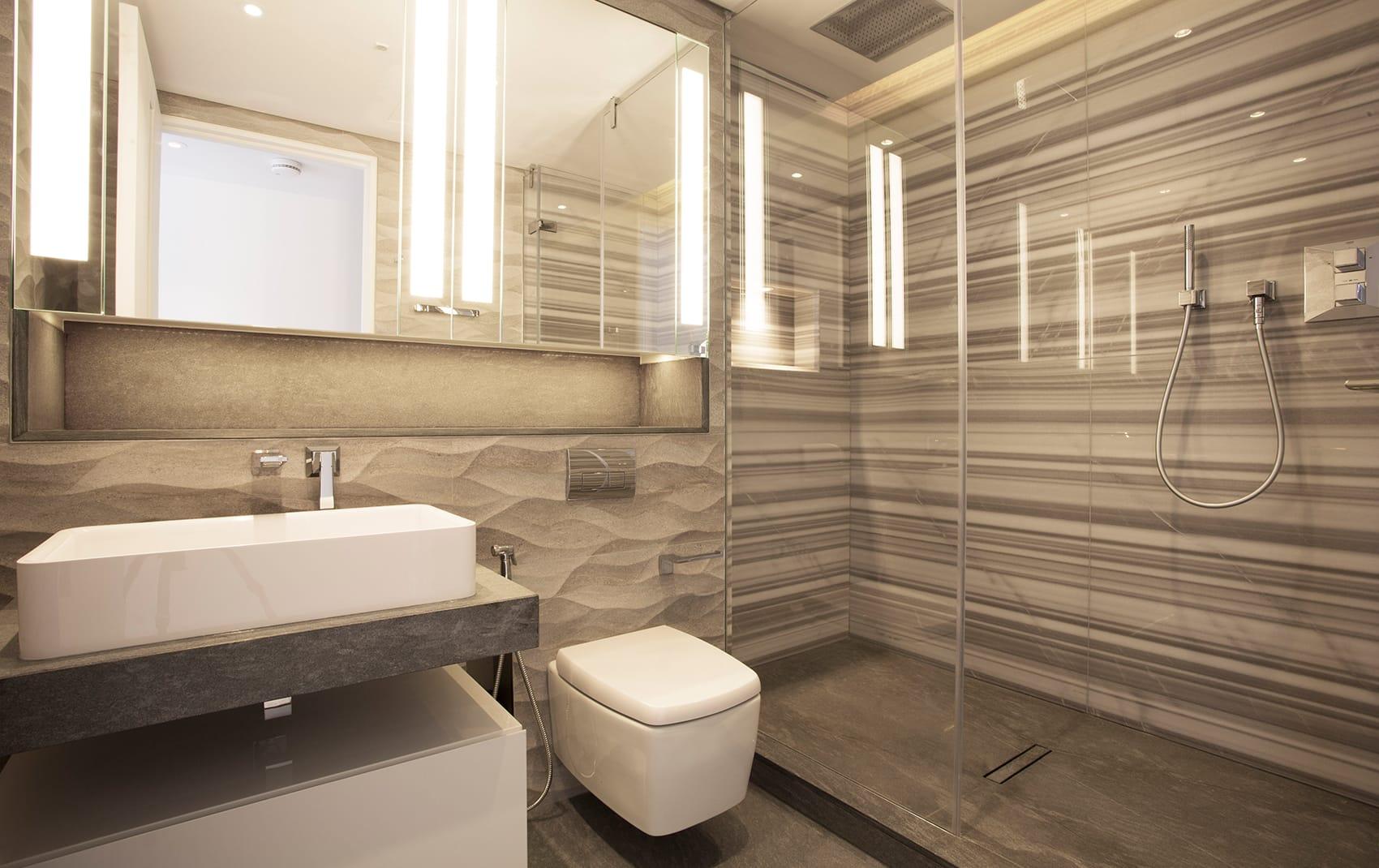 luxury bathroom design London