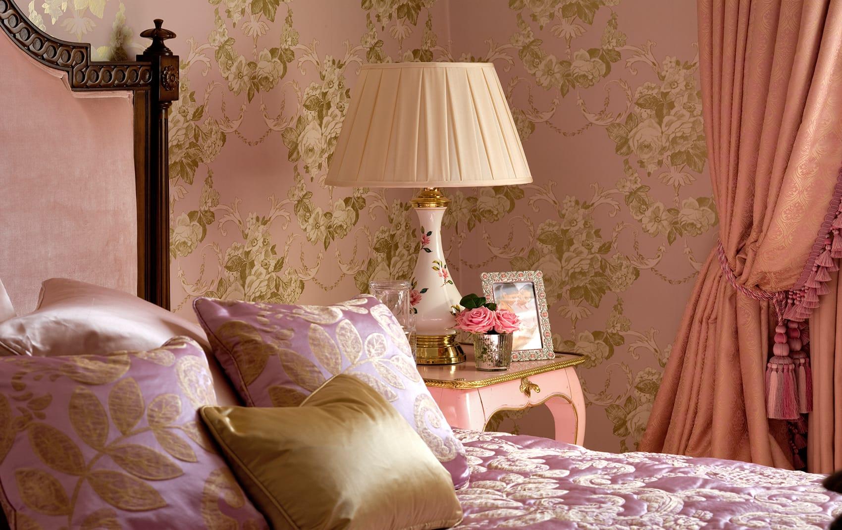 bedroom luxury interior London