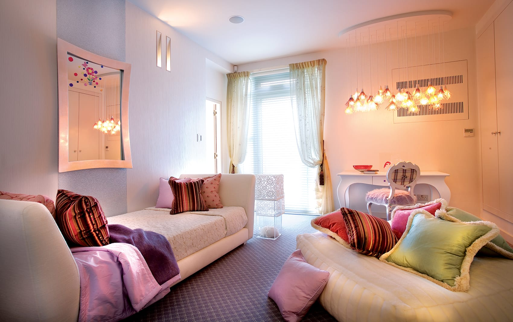 luxury girls room