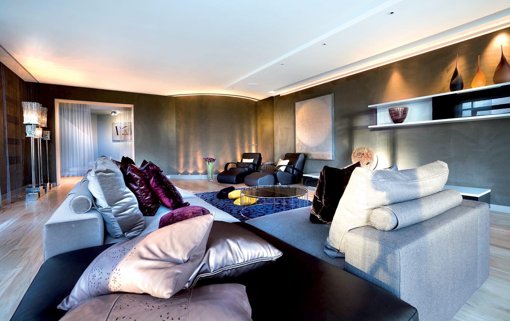 luxury London house interior