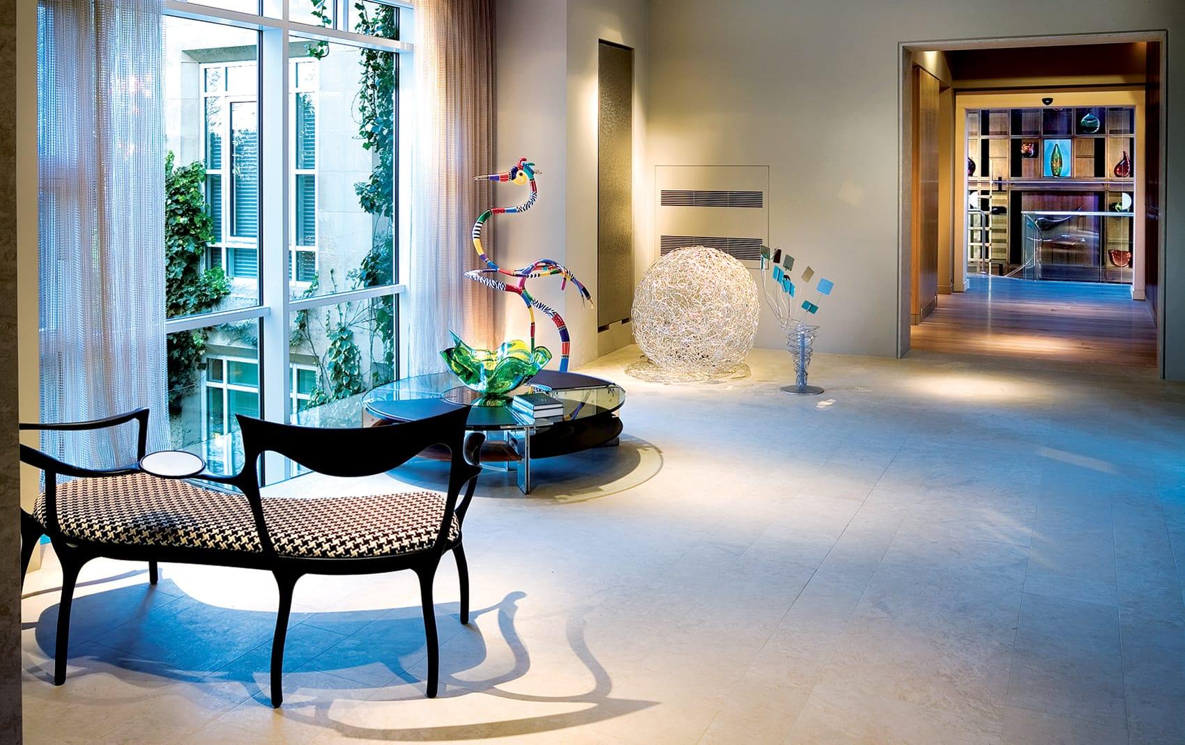 luxury interior hallway