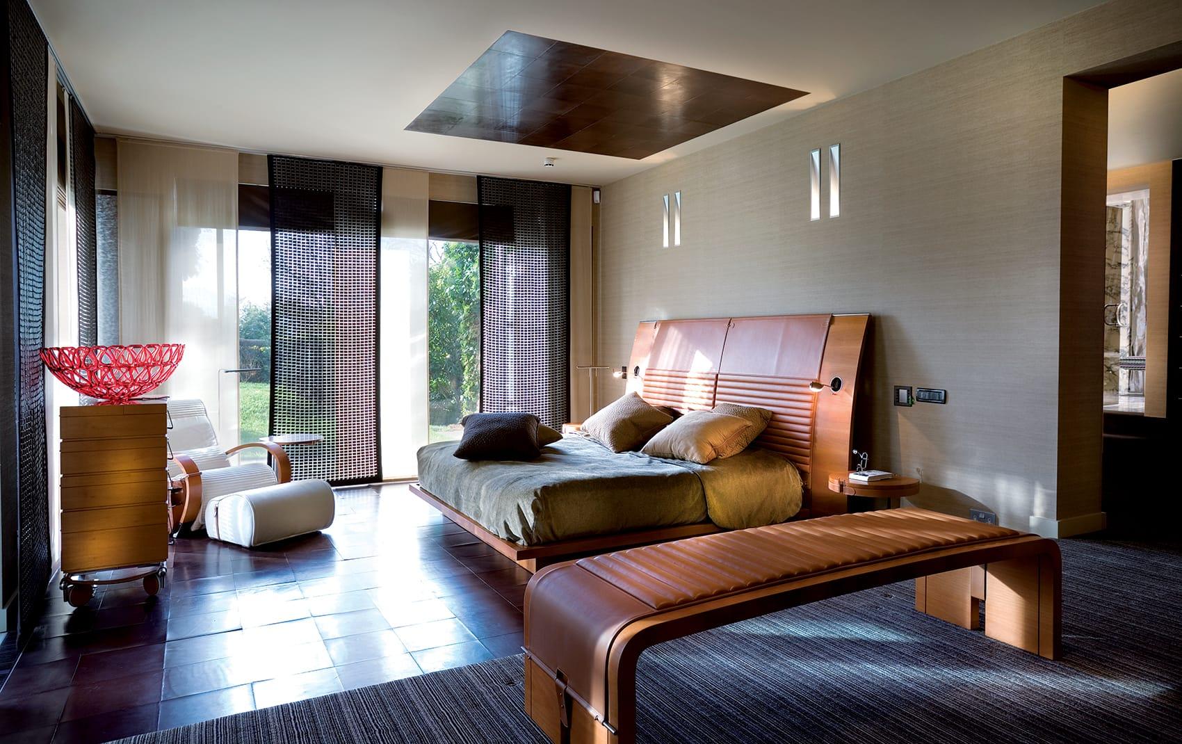 high end bedroom design London