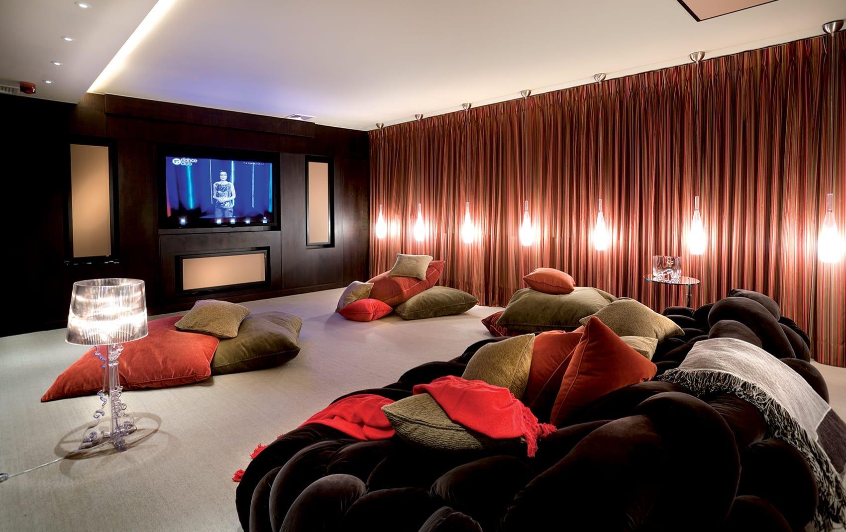 high end cinema room