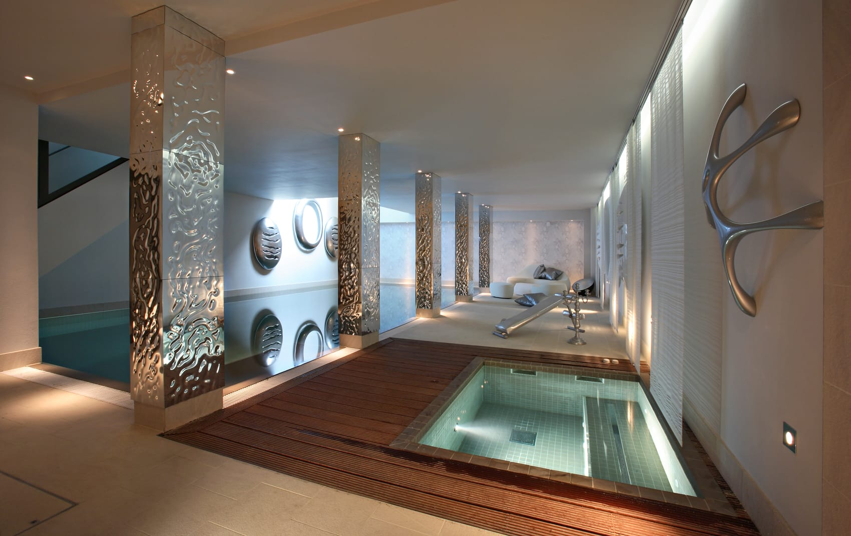 luxury pool room in London