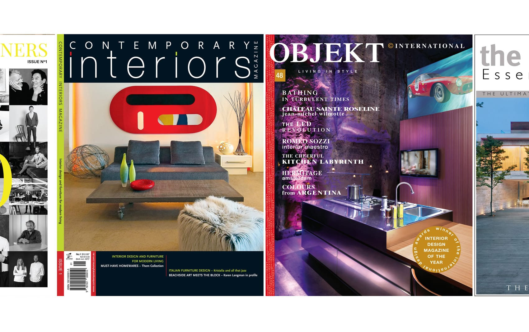 Contemporary Interiors and Objekt Magazine | Award Winning Luxury Interior Designer